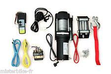 Treuil Power Winch  Pour Quad Atanche  Câble Acier   charge 1360 kg