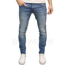 WRANGLER larston para hombre de marca Corte Slim Tapered Jeans Pierna,