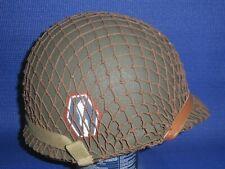 WW2 Helmet - US M1 442nd Infantry Regiment (Japanese American Regt)