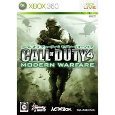 Used Xbox360 Call of Duty 4: Modern Warfare Platinum Collection Japan Import