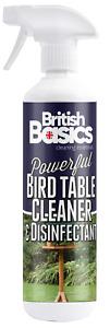 British Basics 500ml Bird Table And Feeder Sanitiser Spray Cleaner Garden Bowl