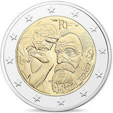 [#480742] France, Monnaie de Paris, 2 Euro, Auguste Rodin, 2017, FDC, BE