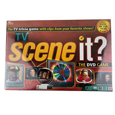 TV scene it? VTG 2005 Television Trivia DVD Game Interactive Factory Sealed