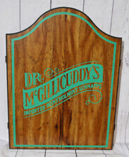 Dr McGillicuddy's Imported Menthol Schnapps Wooden Dart Board Unused New Mancave
