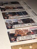 7/24/19 Yankees @ TWINS Encarnacion Torres Hicks Cruz #382 HR Full Ticket Stub