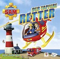 FEUERWEHRMANN SAM - DER TAPFERE RETTER-DAS HÖRSPIEL  CD NEU