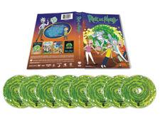 Rick and Morty The Complete Series Seasons Season 1-4 8 DVD Box Set 1234 1 2 3 4