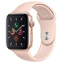Apple Watch Series 5 44mm GPS Gold Aluminum Case Pink Sand Sport Band