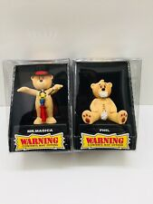 2Bad Taste Bears Figure PHIL And Mr. Magic Novelty Adult Humor Funny Offensive