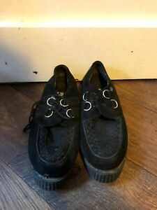 Black Creepers Size 8