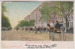 card - Seventh Avenue, New York (A151)