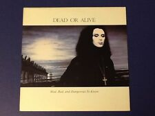 DEAD OR ALIVE~mad, bad, and dangerous to know EPIC 1986 ~ all ORIGINAL~ BOTH Nm-