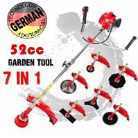 Pro Grass Cutter 7 in1 with 52cc Petrol Engine Multi Brush Trimmer Strimmer Tree