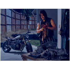 The Walking Dead Daryl in garage with motorcycle 8 x 10 Inch Photo