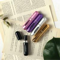 5ml Black Empty Perfume Spray Bottle Travel Size Atomizer Refillable Portable