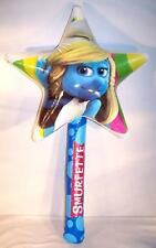 SMURFETTE STAR WAND INFLATEABLE new inflate novelty smurfs play toy blue smurf