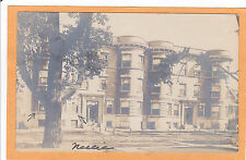 Childs Real Photo Postcard RPPC - Apartments Grace Street Chicago Illinois