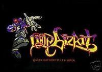 LIMP BIZKIT grafitti man WOVEN SEW ON PATCH official merchandise no longer made