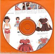 Betsy Magazine Paper Dolls on CD - 1951 through 1960