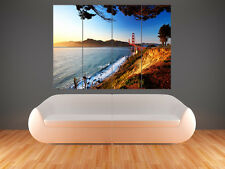 SAN FRANCISCO GOLDON GATE BRIDGE    POSTER WALL ART PICTURE