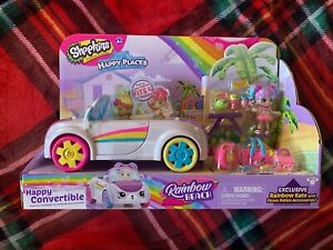 Shopkins Happy Places Happy Convertible Rainbow Kate And Picnic Accessories