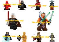10 pcs Lego Star Wars Minifigures Darth Vader Yoda Obi Wan Solo Stormtrooper