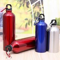 Stainless Steel Camping Water Flask Bottle Outdoor Bicycle Cycling Sports Drink