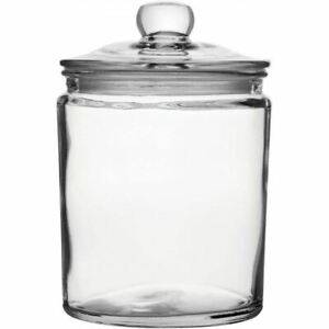 1.9L Biscotti Medium Sized Glass Jar For Biscuits or Other Confectionary
