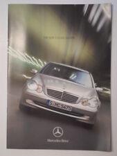 MERCEDES BENZ C CLASS SALOONS orig 2000 UK Mkt Sales Brochure