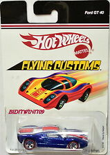 HOT WHEELS FLYING CUSTOMS K4749 MADE BY MATTEL FORD GT 40