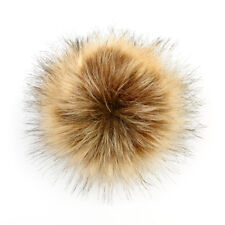 586870dc2ad Removable Fake Fur Hair Ball Fluffy Pompom Hat Clothing Bag Shoes  Accessories