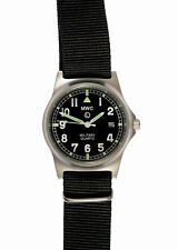 Official MWC G10LM Watch Black Strap 50m Water Proof Military Quartz Date Window