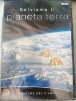 DVD documentario BBC SALVIAMO IL PIANETA TERRA il futuro del pianeta  nuovo