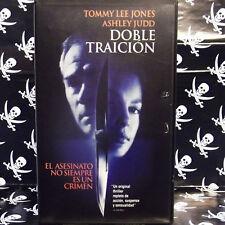 DOBLE TRAICION (Bruce Beresford) VHS . Tommy Lee Jones, Ashley Judd, Bruce Green