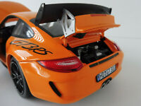 PORSCHE 911 GT3 RS 2010 Orange 1/18 Norev 187562 997 GT 3 Typ 997
