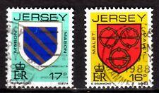Jersey - 1985 Definitives Coats of Arms - Mi. 366-67 VFU