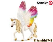 Schleich WINGED RAINBOW UNICORN horse animal plastic toy fantasy pet NEW 💥