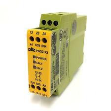 Safety Relay 774303-420163 Pilz 2VA PNOZ-X2-24VAC/DC