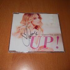 SAMANTHA JADE - UP ! * SIGNED AUTOGRAPHED * Australia CD Single NEW NOT SEALED