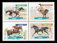 Canada - Block of 4  - Canadian Horses: Northern Dancer, Big Ben... #1794a - MNH