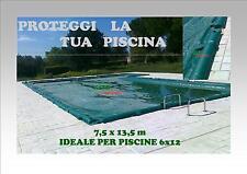 COPERTURA ASTRAL CON SALSICCIOTTI PER PISCINA 6 x 12 MT210