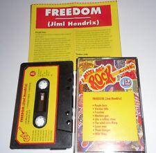 """JIMI HENDRIX Live """" Freedom """" I Miti Del Rock Numero 12 Cassette MC Psych Rock"""