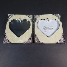 THINGS REMEMBERED Picture Frame with SWAROVSKI Crystal Components Heart-Shaped