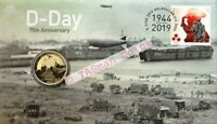 PNC Australia 2019 D-Day 75th Anniversary Perth Mint Tuvalu $1 Coin
