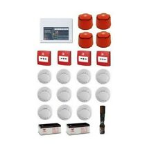 C-Tec 8 Zone Fire Alarm System Contractor Kit