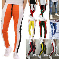 Mens Sweatpants Casual Sports Hip Hop Fitness Joggers Pants Tracksuit Bottoms