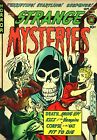 Strange Mysteries 07 Comic Book Cover Art Giclee Reproduction on Canvas