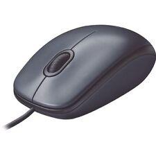 Logitech M100 Corded USB Optical Mouse (IL/RT5-910-001601-UG)