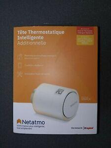 Tête Thermostatique Connectée et Intelligente additionnelle NETATMO