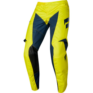 Shift Motocross Pants On Sale White Label Muse 28w Yellow/Navy Last One Cheap